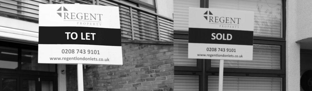 Regent Property Sale Boards